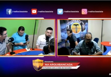 Na Arquibancada, programa divertido sobre futebol na Rádio Classista