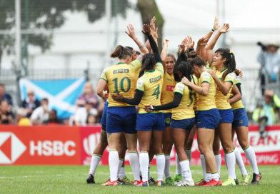 Seleção Brasileira Feminina de Rugby vence todos seus jogos e avança às quartas do Hong Kong Sevens